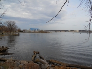 Potomac River, looking toward the Anacostia River