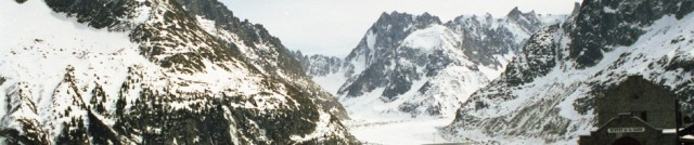 Photo I took in French Alps, 1999