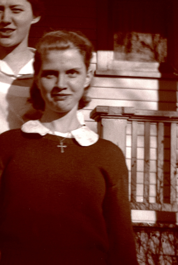 Aunt Rita in younger days