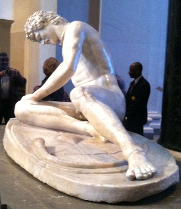 The dying Gaul, c. 300 A.D.