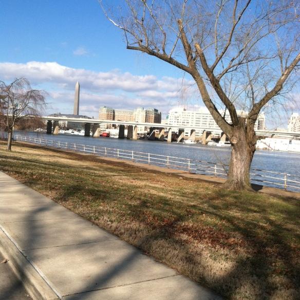 The Washington memorial has finally shed its scaffolding.