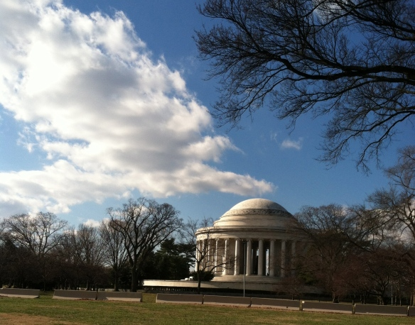 The Jefferson Memorial is still there.
