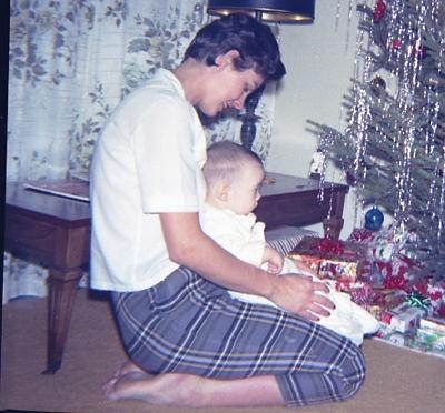 John and me xmas 1965