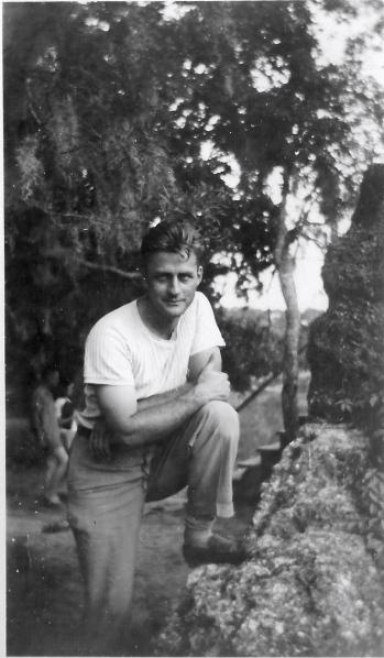 Dad, GA, 1945