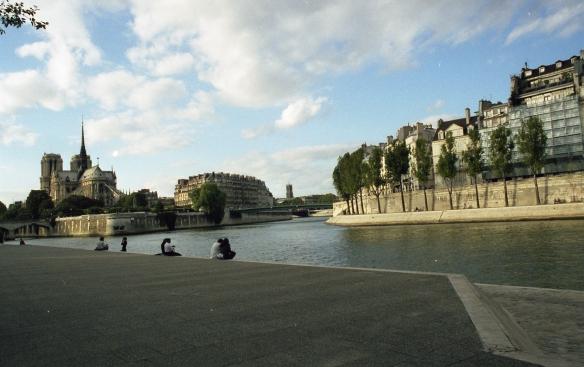 Seine, Paris 1999