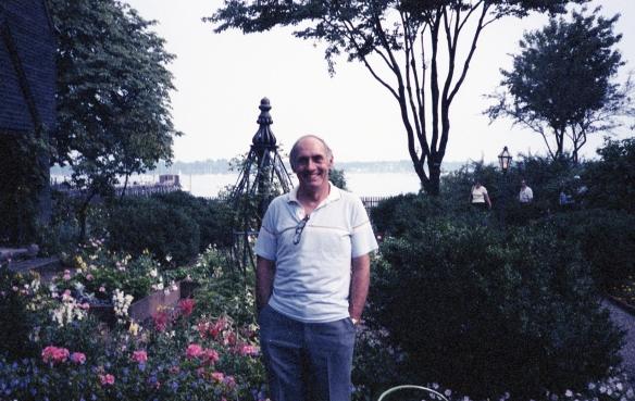 David in the gardens, house of the seven gables, Salem, Massachusetts, 1990