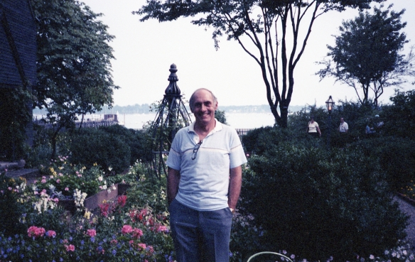 David in the gardens, house of the seven gables, Salem, Massachusetts, 1990