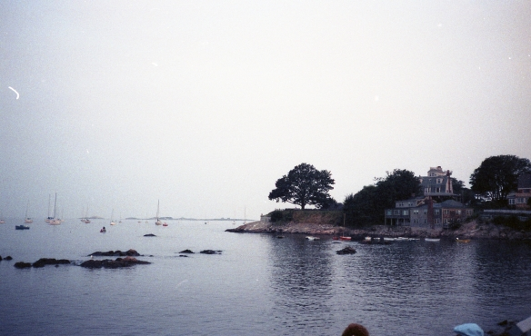 New England Coastline, 1989.