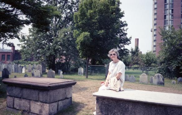 Dianne in Salem Massachusetts, 1990