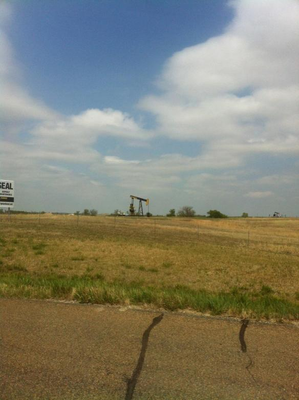 An oil well or two