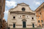 Church of saint Augustine, which houses a work by Caravaggio, featured in 'The Garden of Evil.'