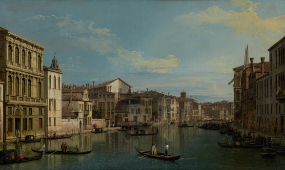 Grand Canal, Painting from the J Paul Getty Museum, Los Angeles