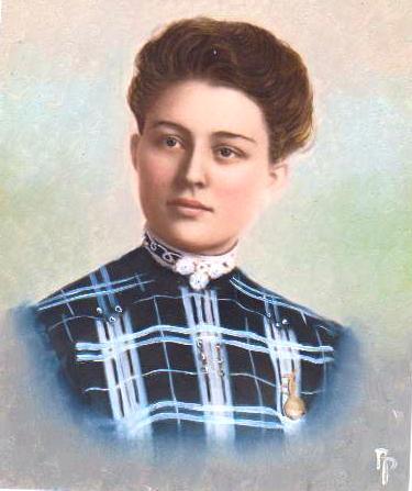 Edna Nichols, State Teacher's College, Oshkosh Wisconsin, 1903