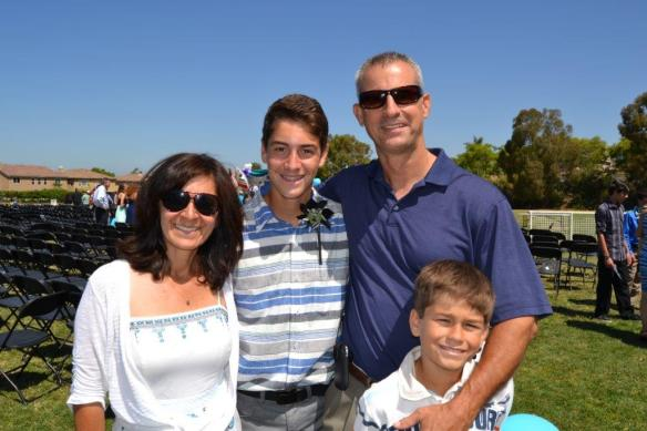 Mom, Jacob Dad and Sean Summer 2014