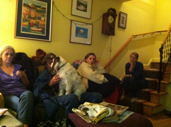 Family gathering.  Are the kids bored out of their minds?