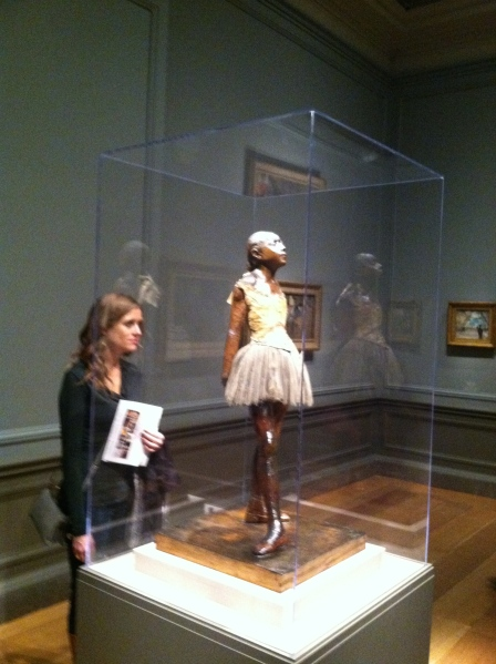 Degas 'Little Dancer' at the National Gallery of Art