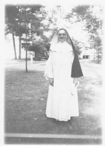 Sister Lois in Madison in the 1950s
