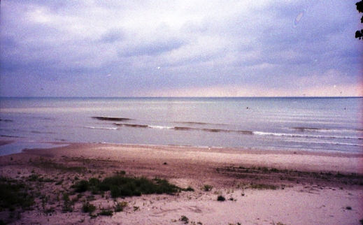 Lake Michigan, ealy morning, 2000