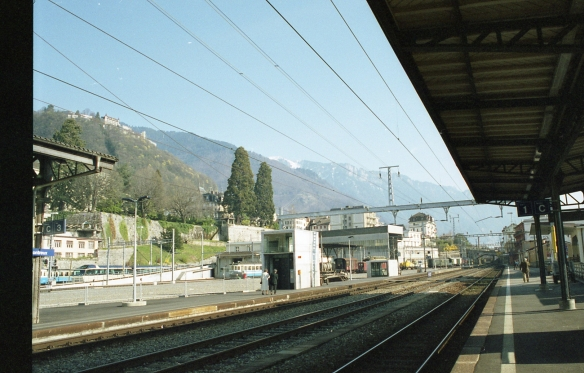 A view from the train, Geneva, 1999
