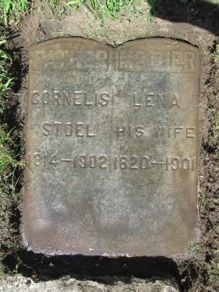 One pair of maternal great-grandparents, buried in Grand Rpids Michigan.
