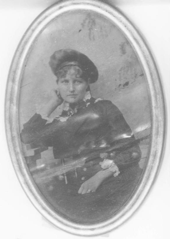 My great-grandmother Francis Nichols., Greenbay WI, circa 1884.