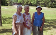 Bernie, Rita and Marge, unts and sisters