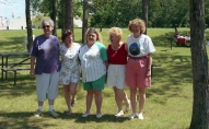 Cousins. Everyone is older and thinner now, Terre Andre state Park in Sheboygan WI, late 1990s
