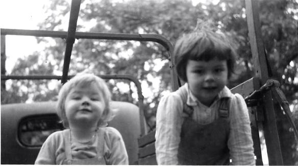 Micki and Dee, 1945